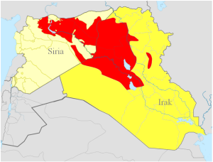 ISIS Areas of Control